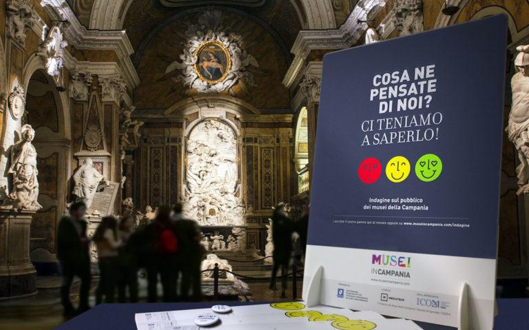 MuseinCampania (2012-2018) Azione di valorizzazione, qualificazione degli standard e messa in rete dei musei di ente locale e interesse regionale. - 2017 Indagine sul pubblico dei musei della Campania