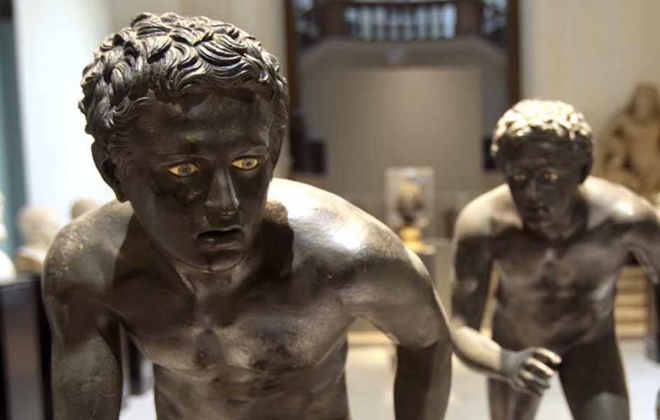 MANN-Museo Archeologico di Napoli-Temporary museum per lUniversita la Sapienza Roma