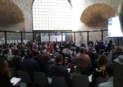 Più fundraising più cultura nella Sala Ottagonale delle Terme di Diocleziano Report di Luciano de Venezia