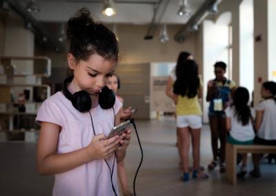 Storie Sonore. La cultura si ascolta - Sistema integrato di fruizione culturale attraverso lo storytelling digitale - concept e art direction Luciano de Venezia - produzione Mediateur