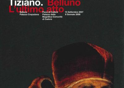 Tizano. Ultimo Atto  Belluno Palazzo Crepadona